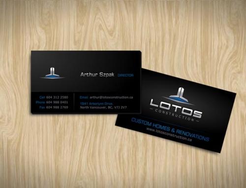 Graphic Design And Logo Design For Lotos Construction