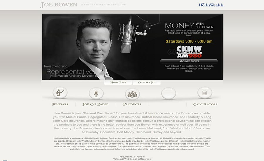 digital-marketing-brand-design-web-design-hiline-lahore-pakistan-Joe-Brown-Radio_Page