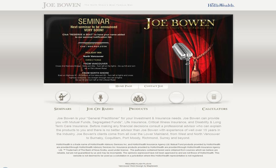 digital-marketing-brand-design-web-design-hiline-lahore-pakistan-Joe-Brown-Seminar_Page
