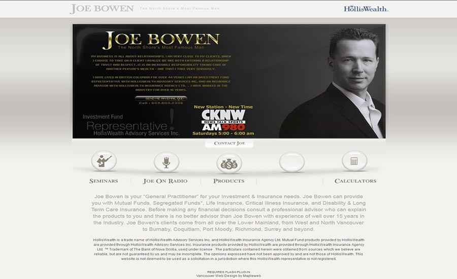 web-design-digital-marketing-brand-design-hiline-lahore-pakistan-Joe-Brown-Main_Page