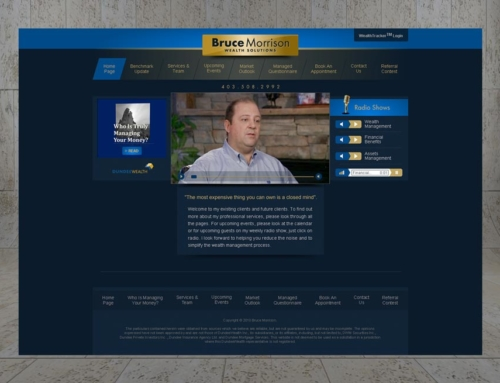 Graphic Design And Web Design For Bruce M