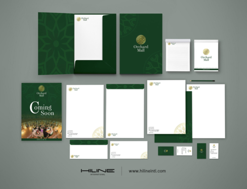 Orchard Mall Identity Design