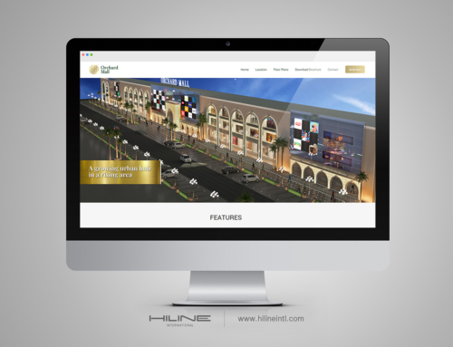 Orchard Mall Web Design
