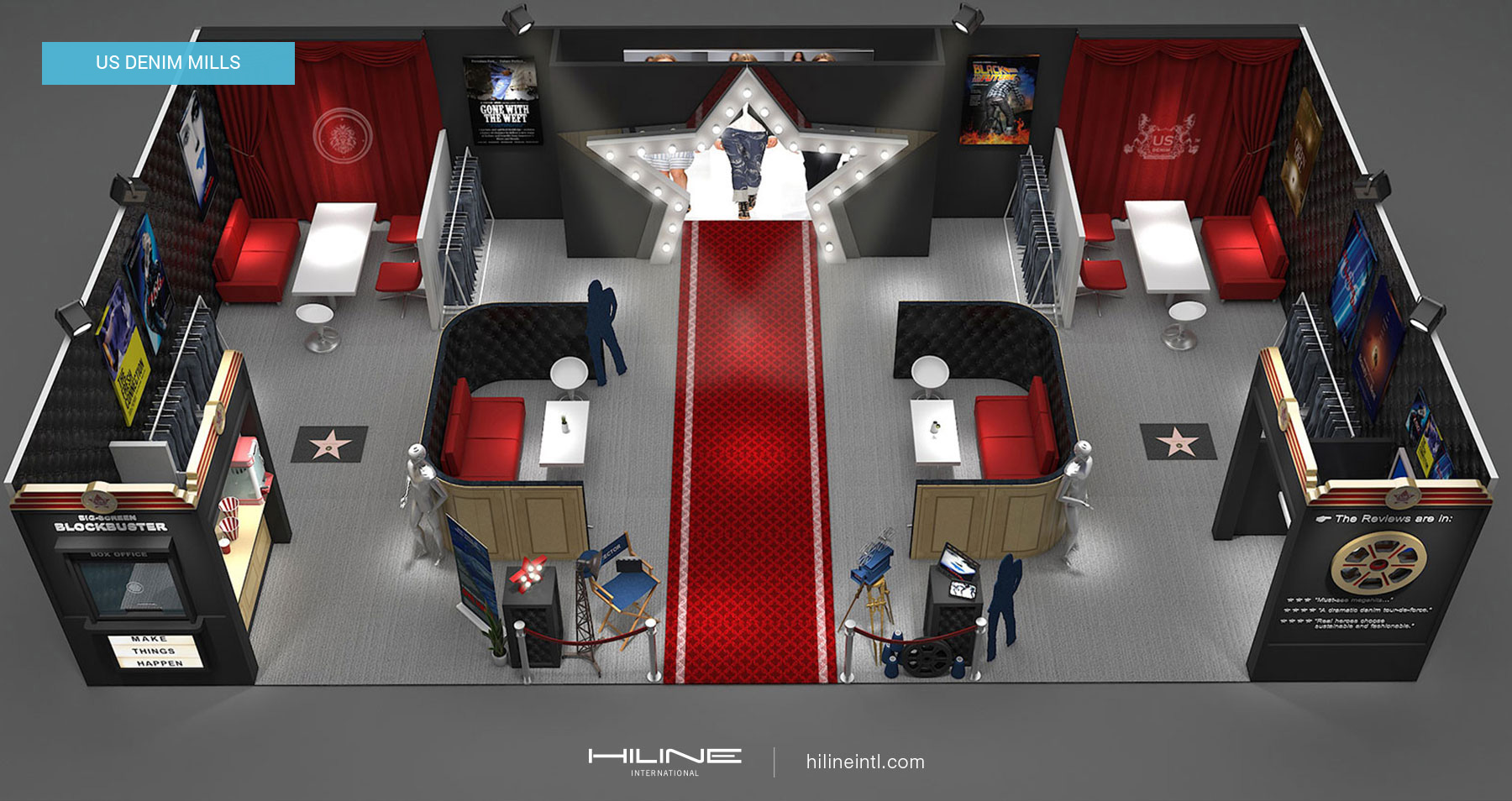 Trade Shows Exhibition Stands Portfolio | HILINE
